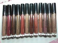 yeni su geçirmez ruj toptan satış-Yeni 12 Renkler Ny xLipstick Dudak Lingerie Mat Sıvı Ruj Su Geçirmez Dudak Parlatıcısı Uzun Ömürlü Ruj Makyaj Maquillage