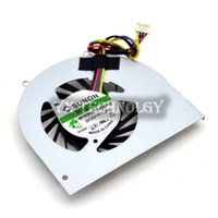 Wholesale Laptop Cpu Fan Sunon - Wholesale- Free Shipping New CPU Cooling Fan For Lenovo Q120 Q150 SUNON :MF50060V1-B090-S99 series laptop fan