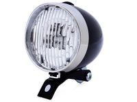Wholesale Retro Bike Headlight - Best price 3 LED Bicycle Headlight Bike Front Light High Quality Retro Headlight Vintage Flashlight Lamp 20pcs