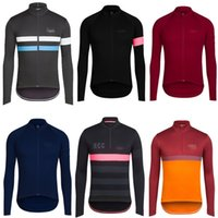 Wholesale 20 Styles Classic Pro MTB Long Sleeve Cycling Jerseys Spring Summer Autumn Pink Breathable Cycling Clothing Men Cycling Jerseys