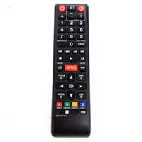 Wholesale Universal Dvd Player Remote - Wholesale- Remote Control FOR SAMSUNG AK59-00145A LCD LED HDTV BDE5700 BDE5900 BDES6000 BD-EM57 BD-EM57 ZA Blu-Ray DVD Player for NETFLIX