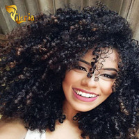 Wholesale malaysian kinky curly hair weave resale online - Remy Human Hair Weave Mongolian Kinky Curly Lace Front Human Hair Wigs Indian Peruvian Malaysian Culry Full Lace Wigs