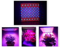 Wholesale 196leds Red Blue Full Spectrum W Plant Grow Light LED Grow Light Panel Ultra thin Grow Led Light