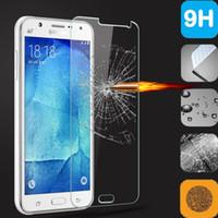 samsung s6 mini al por mayor-Para Samsung Galaxy S6 MINI J7 prime A320 A520 A720 A3 A5 A7 2017 C9 C9 PRO 9H Premium 2.5D Protector de pantalla de cristal templado 200pcs / lot