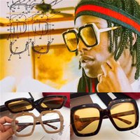 Wholesale Optical Frames Sunglasses - Popular fashion style specially designed popular sunglasses G 0088SK square two-layer lens frame sunglasses and Optical glasses