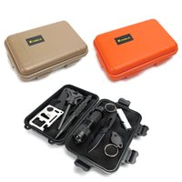 Wholesale Large Size Outdoor Shockproof Waterproof Airtight Survival Storage Case Container EDC Camping Travel Plastic Carry Box