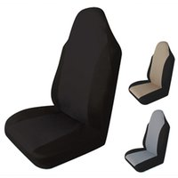 Wholesale Universal Car Front Seats - Auto Seat Cover Universal Cushion with Front Car Vehicle Seat Cover Single-piece Packing Four Seasons Anti-Dust Cushion