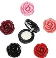 Wholesale flowers korea resale online - 2017 Newest Korea CE Rose Flower Matte lipstick Lip Blam Moisturizing color Brand Cosmetic