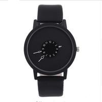 Wholesale Roman Leather Bracelet - 2017 Unisex Luxury Watches Roman Number Watch Leather Bracelet Quartz Watch Fashion Mens Women Sports Cystal Watches