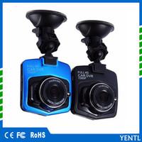 araba kamera kaydedici dijital toptan satış-YENTL Mini Araba Dvr Kamera Full HD 1080 p Kaydedici Bellek 16G veya 32G Dashcam Dijital Video Registrator G-Sensörü Yüksek kalite Çizgi kam