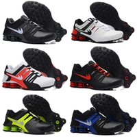 10 colori vendita calda Drop Shipping Famous Shox NZ Current Mens Athletic Sneakers Sport Scarpe da corsa Taglia 7-12