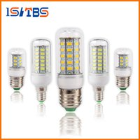 Wholesale E14 Warm White - SMD5730 E27 GU10 B22 E12 E14 G9 LED bulbs 7W 9W 12W 15W 18W 110V 220V 360 angle LED Bulb Led Corn light