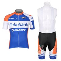 Wholesale Rabobank Bib Shorts - New Team rabobank cycling jersey cycling clothing summer short sleeve bike shirt mtb bicycle bib shorts quick dry ropa ciclismo D1504