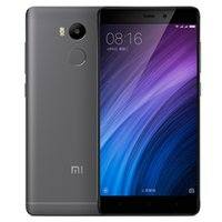 Touch ID Xiaomi Redmi 4 4G LTE de 64 bits Octa Core Qualcomm Snapdragon 430 2GB 16GB Android 6.0 GPS Fingerprint Scanner 13MP Camera Smartphone