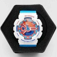 Wholesale Digital Display G - Fashion Sports Men Watches ga110 G Display Army Military Shocking Watches ga110 Men Casual LED Fashion Watches Drop Shipping