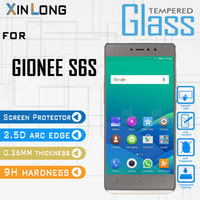 Wholesale gionee phones - Tempered Glass Screen Protector For Gionee s6s Tribute HD Google Pixel XL ZTE Tempo N9131 Mobile Phone Accessories with packing