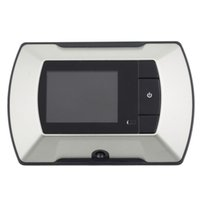 "Wholesale Door Eye Camera Lcd - 2.4"" LCD Visual Monitor Door Hole Viewer Camera Video electric door-eye"