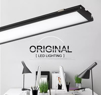 Wholesale High Touch Surfaces - Ultra thin LED Panel Light 4ft 1200mm 25W batten Tube shaped surface mounted led ceiling lamp High brightness 2000Lm Downlights AC 85-265V