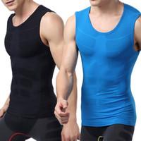 équipement serré achat en gros de-Vente en gros - Collants de couche de compression pour hommes Top Shirts Under Skin Long Sleeve Fitness Gear L4 HU5