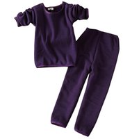 Wholesale Thermals For Baby Girls - Thermal Underwear for Children Mother & Kids Boys Girls Clothing Sets Infant Clothing Girl Baby Boy Winter Clothes