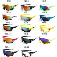 Wholesale Drop Ship Bicycle - New UV400 Cycling Eyewear Bike Bicycle Sports Glasses Hiking Outdoor Sport Mountain Men Motorcycle Sunglasses Drop Shipping Are Available