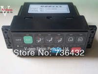Wholesale Free Air Conditioners - Fast Free shipping ! Best Doosan air conditioner control panel 543-00049 for Daewoo S220 -5 225 -V excavator Daewoo Excavator parts