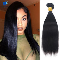 3 Bundles Raw Virgin Indian Silky Straight Hair Weave Cheap Color 1B Preto Brazilian Malaysian Peruvian Cambodia Chinês Cabelo Humano Trama