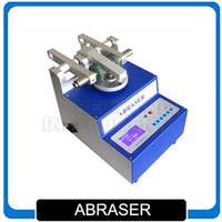 Wholesale taber abraser taber abrasion test machine ASTM ISO DIN standards Rotational Abrasion Tester rpm and rpm