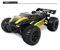 Wholesale Scale Rc Off Road Trucks - Rc Car 1 24 Scale Off Road Monster Truck 4wd Remote Control Car High Speed Brushless Electric Car Remote Control Toys