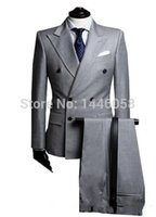 Double Breasted Wedding Men Suit Canada | Best Selling Double ...