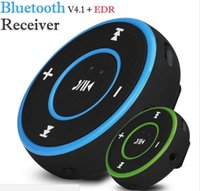 Wholesale Mini Wireless Audio Receiver - AD-A26 Mini Wireless Car Bluetooth Receiver AUX Music Stereo Audio Adapter 3.5mm Aux Jack for Headphone Speaker 3 Colors