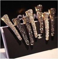 fashion alligator clips großhandel-Womens Mode Perle Fransen Clip Krokodilklemmen Haarspangen