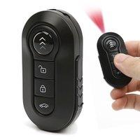 Wholesale Car Remote Camera Spy Camcorder - 32GB 1080 HD Spy Car Key Mini Camera IR Night Vision Remote Motion Detection Metal Body DVR Hidden Portable Camera Night Vision Camcorder