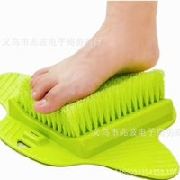 Wholesale Suckers Massager - Feet Foot Bath Shower Brush Spa Washer Cleaner Scrubber Massager Wear With Sucker Can Hang Brushes Hot Sell 13zb J R