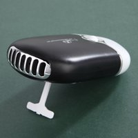 Wholesale Ma Usb - DHL Ship Summer Office Mini Pocket USB Fan Air Conditioning Fan Rechargeable Portable USB Gadget Fan ventilateur 400 ma Housing Eletric