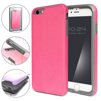 Wholesale Apple Plastic Effect - 2017 Fashion 2 IN1 TPE+PC Bumper Candy Colorful Cute Premium Back Cover Frosted Effects Cellphone Cases For iPhone 7 6 6s plus