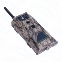 Wholesale Mms Digital Scouting Camera - free shipping HC600G Scouting Hunting Camera Trap 16MP HD 1080P GPRS MMS 3G Digital Infrared Trail Cameras IR Hunter Camcorder Ann