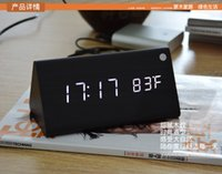 Wholesale Cheap Desktop Clocks - New Factory Sale Cheap Digital LED clocks,Alarm Clock, Desktop clocks Multi-function Weather Station,electronic display home decor