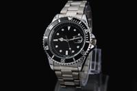 ceinture de montre en nylon achat en gros de-2016 date automatique hommes et femmes de la mode de luxe de l'horloge à quartz en acier mouvement hommes ceinture montres.