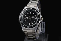 дама оптовых-2016 Автоматическая дата роскошь мода мужчины и женщины стальной пояс Механизм Кварцевые часы мужские часы.