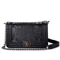 Wholesale Embroidery Handbags - Brand Fashion Chain Shoulder Bag Diamond Embroidery Women's Bag Velvet Luxury Handbags Women Bags Designer Crossbody Bags