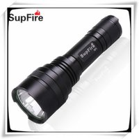 Wholesale Hunting Free Shiping - SupFire M1 led torch flashlight rechargeable CREE LED light climbing portable hunting torch free shiping