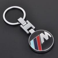 Wholesale Bmw E34 Ring - New Fashion Metal Car Logo key ring keyring keychain key chain for bmw e30 e34 e36 e39 e46 e60 e90 f10 f30 x 1 3 5 6 Chaveiro