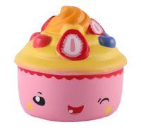 ingrosso squishies kawaii gelato-Jumbo cute kawaii cupcake gelato squishies profumati molto lento aumento giocattoli per bambini regalo bambola collezione di divertimenti stress sollievo giocattolo puntelli hop