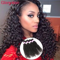 2017 Articles les plus vendus Kinky Curly Brazilian Virgin Hair Extensions Mink Brazilian Hair Bundles Mongolian Kinky Curly Human Hair Weaves 6ps