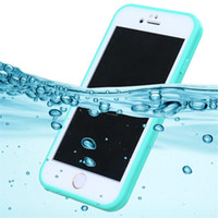 Wholesale Tpu Waterproof - Waterproof Case TPU Full Boday Case CoverFor iPhone X 8 7 6 6S Plus 5S Samsung S7 Shock-proof Dust-proof Underwater Diving Cases
