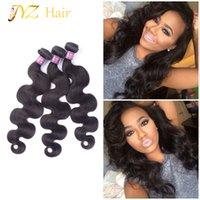 несравненные волосы оптовых-JYZ горячий продавать мода перуанский Виргинские волосы объемная волна необработанные несравненные бразильские Виргинские наращивание волос Глэм Малайзийские пучки волос