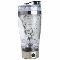 Wholesale Protein Shaker Mixer - 20OZ BPA Free USB Portable Electric Automatic Movement Mixing Mixer Smart Cup Protein Shaker Vortex Tornado Blender Water Bottle