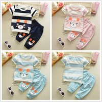 Wholesale Childrens Animal T Shirts - Fashion design baby clothing set T-shirt mix styles mix colors Childrens Clothing Sets Short Sleeve tshirts wholesale free DHL