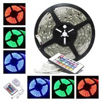 Wholesale Rgb Color Meter - LED Strip Light Non-waterproof LED Flexible Light Strip 12V 300pcs LED 6 Color Options SMD 3528 16.4 Feet 5 Meter Christmas Light
